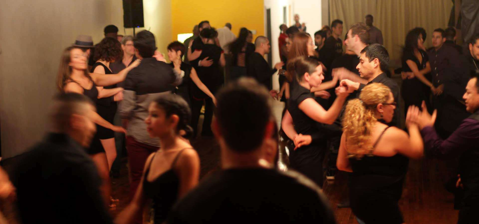 Social Latin dancing