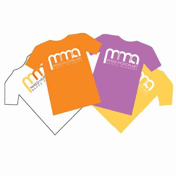 Mixed Motion Art Tshirts