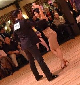 Del Dominguez and Laura Flores 1st place