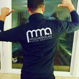 Mixed Motion Art Dance Academy Warm-up Jacket